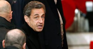 "Former French president Nicolas Sarkozy: ""Who could have imagined that, in 2014 in France, the right to privacy would be violated by telephone taps?"" Photograph: Reuters/Benoit Tessier"