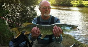 John Trimble is in a stable condition in hospital in Ballinasloe following the ill-fated fishing expedition.
