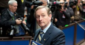 "Taoiseach Enda Kenny:  ""The relationship between the Taoiseach of the day and the Garda Commissioner of the day is one that has to be absolutely professional."" Photograph: AP Photo/Virginia Mayo"