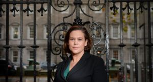 "Mary Lou McDonald: ""It is a strong thing to  say that they have carried themselves in a manner that is disgusting.  Photograph: Alan Betson"