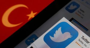 Turkey's courts have blocked access to Twitter a little over a week before elections as prime minister Tayyip Erdogan battles a corruption scandal that has seen social media awash with alleged evidence of government wrongdoing. Photograph: Reuters