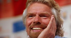 """People end up as entrepreneurs for different reasons. Some, like Sir Richard Branson (above), are dyslexic and do so badly at school that the usual careers are closed."" Photograph: Chris McGrath/Getty Images"