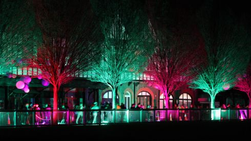 The  RDS was chosen as the venue to host the World Premiere 5K  Electric Run on Saturday 22nd March 2014 Photograph:  Nick Bradshaw