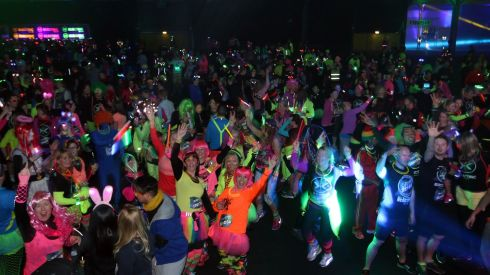 Electric Run is a massive event to stage with the same installation and technology required for a major music concert but spread over a 5K route.