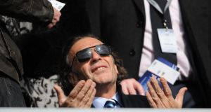Massimo Cellino. Photograph: Daniel Hambury/PA Wire