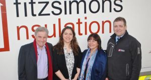 Christy, Michelle, Jenny and Peter Fitzsimons of Fitzsimons Insulations