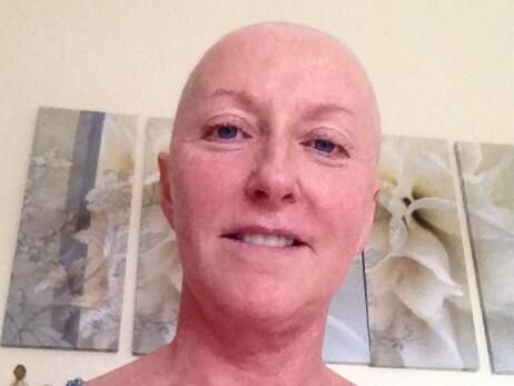 Majella O'Donnell, who was diagnosed with breast cancer last year, joins the 'No make-up selfie' craze that has raised more than €750,000 for the Irish Cancer Society since last Thursday.