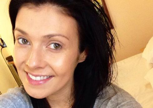 This is Coronation Street actress Kym Marsh's second attempt with her no make-up selfie. She said the first was too dark.