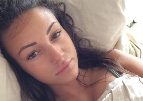 Fellow Coronation Street actress Michelle Keegan also got involved in the trend with a flawless no make-up photograph.