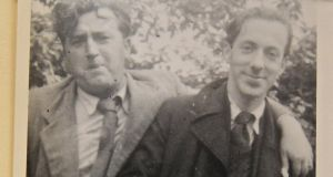 Brendan Behan and Pearse Hutchinson