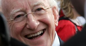 Cork City Council is to award President Michael D Higgins the freedom of the city. Photograph: The Irish Times