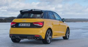 Hot hatch: the five-door Audi S1 Sportback