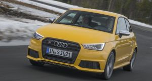 Hot hatch: the three-door Audi S1