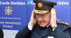 File photograph of former Garda Commissioner Martin Callinan in January 2013. Photograph: Brenda Fitzsimons/The Irish Times