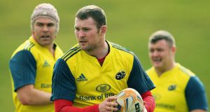 Donnacha Ryan underwent a scan yesterday and will visit a specialist later today.