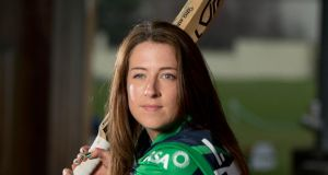 Ireland skipper Isobel Joyce: her four overs went for just 17 runs. Photograph: Inpho