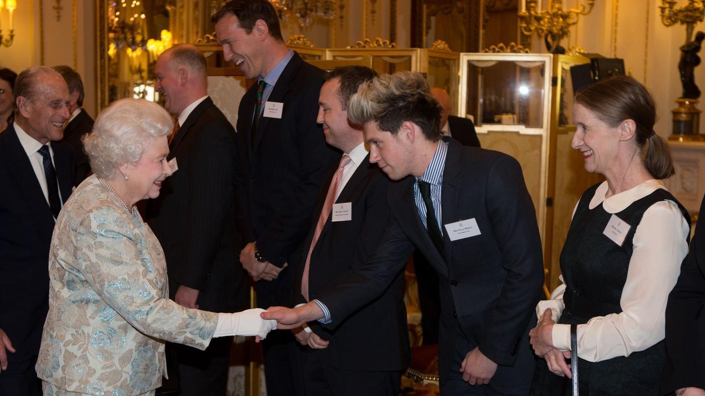 Queen Elizabeth Greets Stars At Reception For Irish Community
