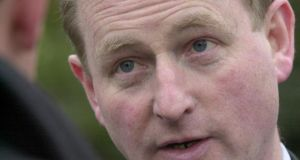 Enda Kenny: he told the Dáil he had been made aware of the problem by Attorney General Máire Whelan at 6pm on Sunday