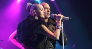 The Human League: Don't you want them? Yes, actually, you do (photograph: Alan Betson/The Irish Times)