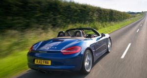 Porsche's Boxster and Cayman will get a new lower-emissions flat-four engine with up to 400bhp.