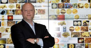 Circle Internet Financial founder and CEO Jeremy Allaire. The company, which has its international headquarters in Dublin,has raised $17 million in Series B funding. Photo: Brenda Fitzsimons/The Irish Times
