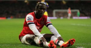 Arsenal's Bacary Sagna a target for Manchester City. Photograph: Nick Potts/PA Wire