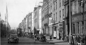 Parnell Square East, Dublin, showing Findalters Church and and Cavendish Row. Photograph: Jack McManus/THE IRISH TIMES