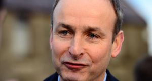 Fianna Fáil leader Micheál Martin: asked why the commission of inquiry was announced on the day the commissioner resigned.