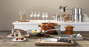 Kitchen equipment and knives at discount prices at the new Zwilling JA Henckels outlet at Kildare Village