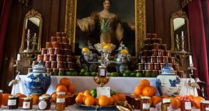 "The ""Marmalade Awards Temple"" at Dalemain, in Penrith, home of the World's Original Marmalade Awards"