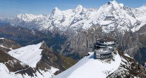 Piz Gloria, the mountain base of Ernst Stavro Blofeld in On Her Majesty's Secret Service