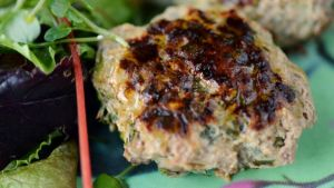 Turkey burgers. Photograph: Alan Betson
