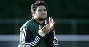 New Zealand and Auckland Blues scrumhalf Piri Weepu has suffered a stroke earlier this month. Photographer: Dara Mac Dónaill / THE IRISH TIMES