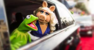 "The stars of Mupets Most Wanted arrive for their interview with The Irish Times. ""Everybody got on famously and did not compete with moi at all,"" says Miss Piggy"