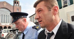 Ciprian Grozavu pictured arriving at Cork Criminal Court. Pic Daragh Mc Sweeney/Cork Courts Limited