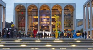 The Metropolitan Opera House in New York