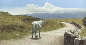 The Long Road Home, Connemara, by Patrick Hennessy sold for €16,000 (€7,000-€10,000) at Adam's