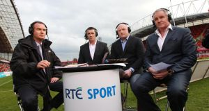 RTÉ Sport are still involved in the bidding war for TV rights to the 2015 Rugby World Cup.  Photograph: Billy Stickland/Inpho