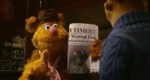 Disney debut: The Irish Times features in key scenes. The Muppet franchise was resurrected in 2011 and the last film proved to be so popular at box offices here that Disney decided to make Dublin one of four European cities featured on the Muppet world tour