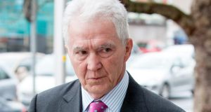 "Seán FitzPatrick told gardaí he was in the south of France when he got a call from Mr Drumm on July 9th to tell him they were going to ""solve the problem"" of Mr Quinn's holdings in the bank. Photograph: Collins Courts."