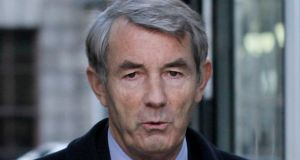 Michael Lowry: BBT Chartered Accountants had sought final judgment from the master arising from fees claimed for work carried out by the firm for the TD in relation to the Moriarty tribunal. Photograph: Collins Courts