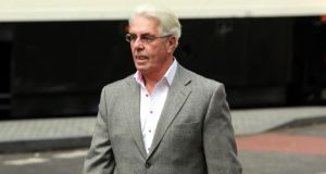 Publicist Max Clifford arriving  at Southwark Crown Court yesterday. Photograph: Sean Dempsey/PA Wire
