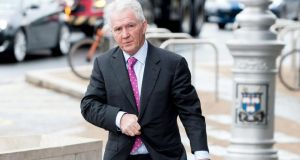 Former Anglo chairman Seán Fitzpatrick at Dublin Circuit Criminal Court on Thursday March 27th. Photograph: Collins Courts.