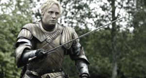 Game Of Thrones:  Gwendoline Christie as Brienne of Tarth