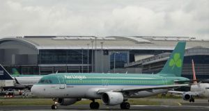 The airline endured a good deal of turbulence last year as a row over the €780 million hole in the pension plan it operates jointly with Dublin Airport Authority dragged on.  Photograph: Aidan Crawley/Bloomberg
