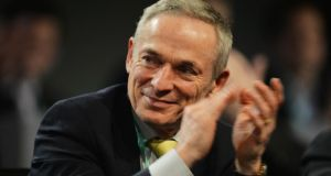 Richard Bruton is putting the finishing touches to an Act that will merge the National Consumer Agency and the Competition Authority, albeit more than four years after it was outlined as a key element of Government policy. Photograph: Alan Betson