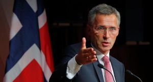 Following weeks of speculation, NATO confirmed this afternoon that 55-year-old Jens Stoltenberg will assume the role of head of the defence organisation in October. Photograph: Reuters.