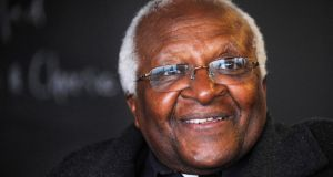 Archbishop Desmond Tutu:  called for urgent and comprehensive inquiry. Photograph: Fiona Hanson/PA Wire