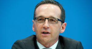 "Justice minister Heiko Maas described the overhauled citizenship rules as a ""very significant step towards modern citizenship policy"". Photograph: EPA/Maurizio Gambarini"