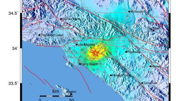 Magnitude 5 1 Earthquake Shakes Los Angeles